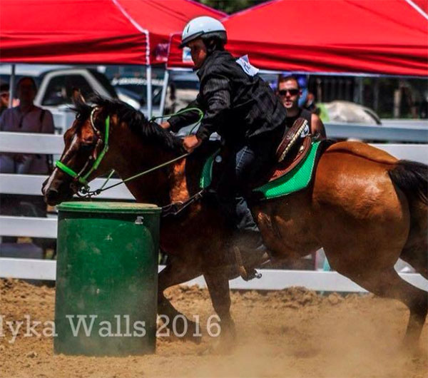 Braxton Rogers, Barrel Racing