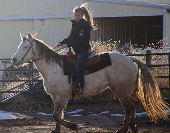 Cailyn Grewe, Barrel Racing