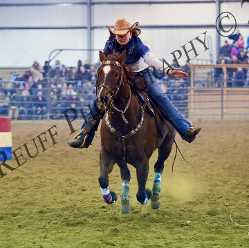 Desirae Zimmerman, Barrel Racing
