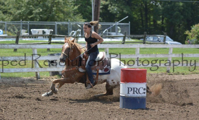 Cheverly Chichura, Barrel Racing