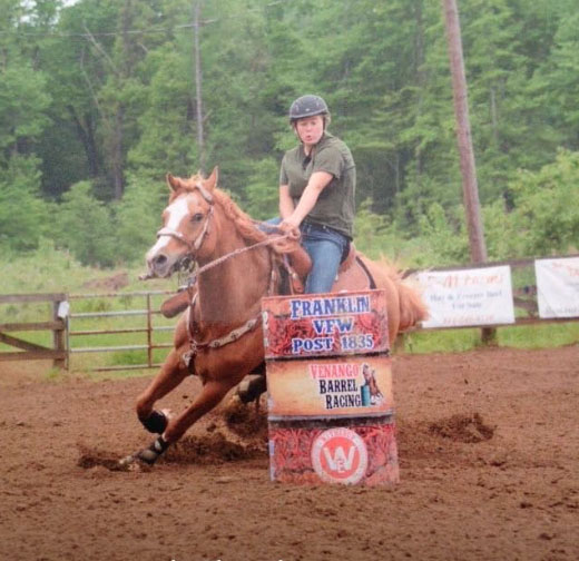 Devan Daughenbaugh, Barrel Racing