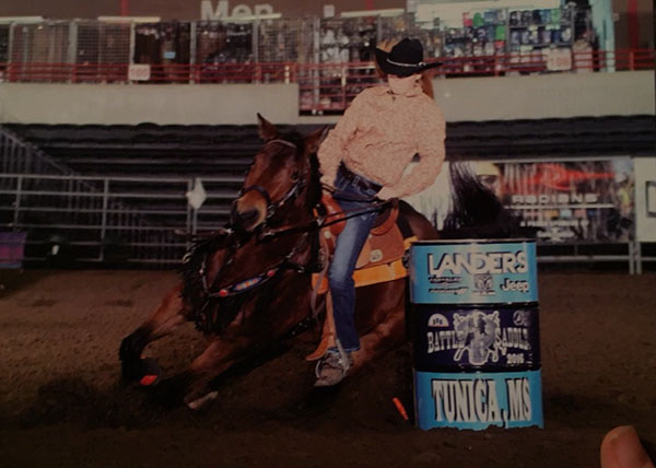 Emily Grace Gray, Barrel Racing