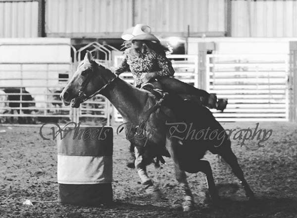 Joleta Hiatt, Barrel Racing