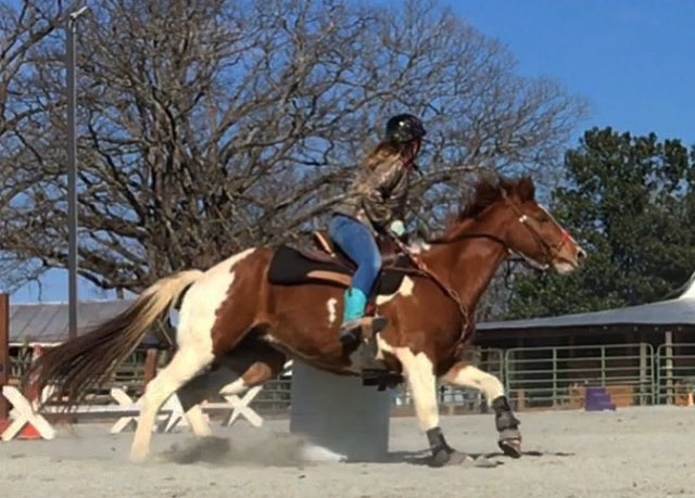 Kara Brookins, Barrel Racing