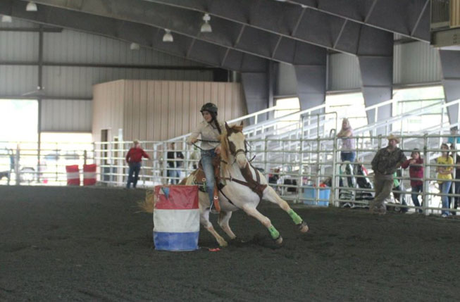 Karlee Geter, Barrel Racing