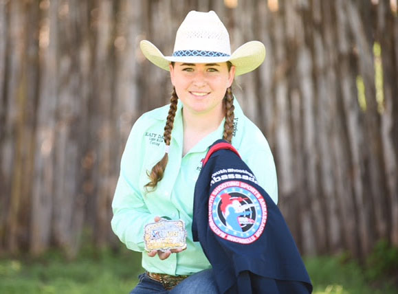 Katy Davis, Barrel Racing