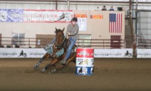 Kelsi Hacker, Barrel Racing