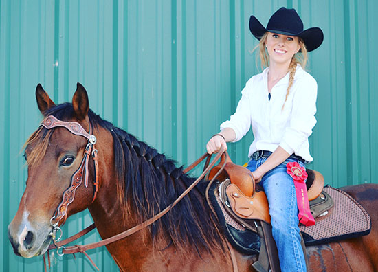 Kinsey Frazier, Barrel Racing