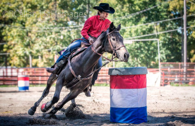 Larissa Byers, Barrel Racing