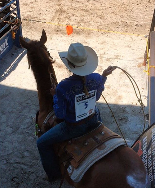 Lynnsey Toole, Barrel Racing