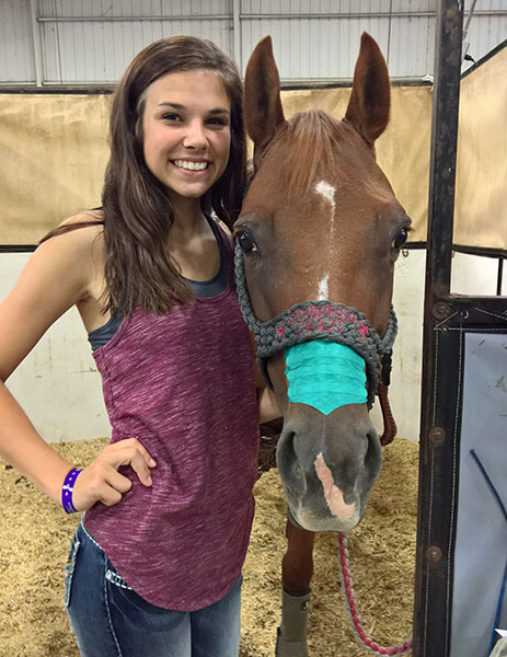 Maggie Rae Smith, Barrel Racing