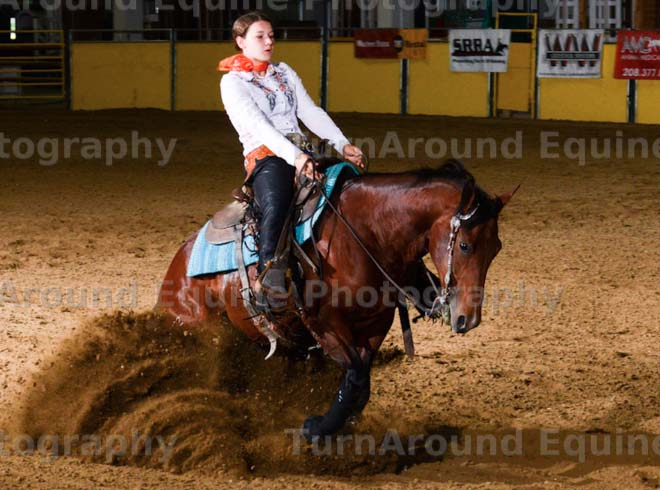 Mindy Russell, Barrel Racing