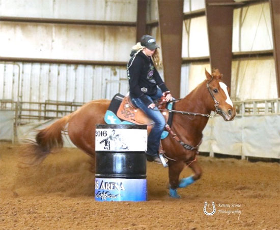Morgan Parker, Barrel Racing