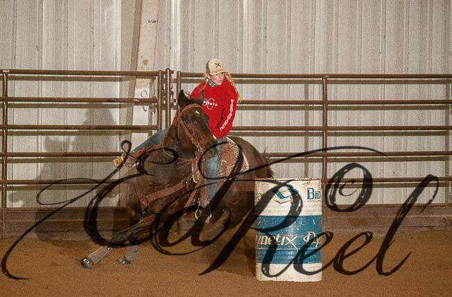 Robbie Osborn, Barrel Racing