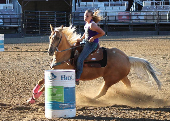 Shelby Finch, Barrel Racing