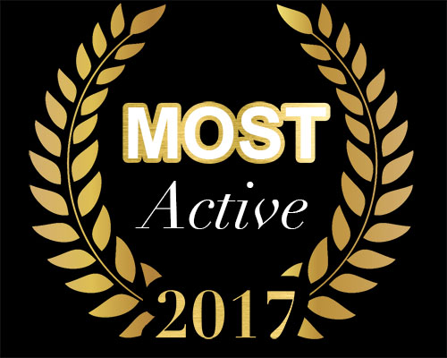 2017 MOST Active award in the Lakota Young Professionals