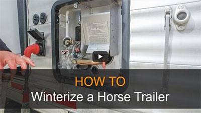 Winterize your Horse Trailer