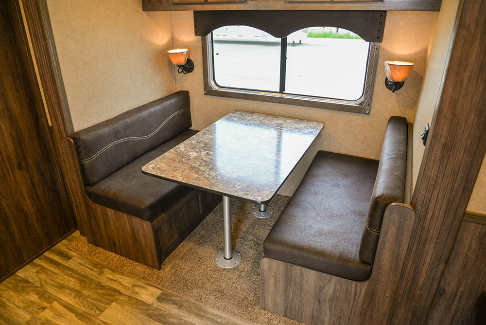 Dinette in Charger CTH81215SRB | Lakota Trailers