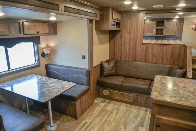 Living space in Charger CTH81215SRB | Lakota Trailers