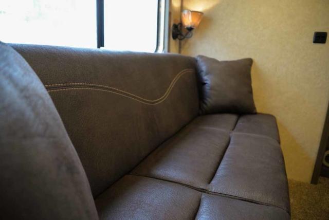 Sofa in Charger C8X17EH | Lakota Trailers