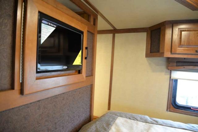 Bedroom in 2019.5 Bighorn BH8X18CE | Lakota Trailers