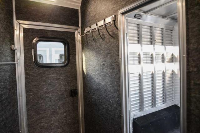 Mid tack in 2019.5 BLE8X16SR | Lakota Trailers