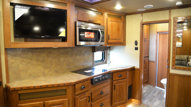 Kitchen in 2019.5 BH8X16SR | Lakota Trailers
