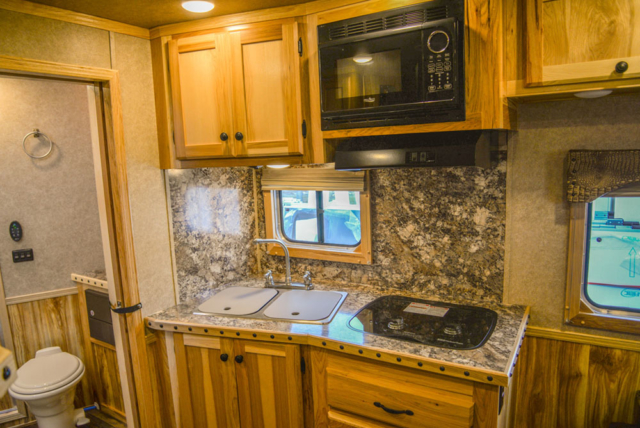 Kitchen in Charger C8X11SR | Lakota Trailers