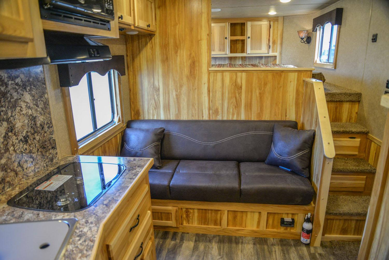 Sofa in LE8X11SR Livestock | Lakota Trailers