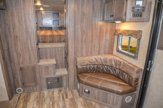 Living Quarters in C8X15CL Charger Edition Horse Trailer | Lakota Trailers