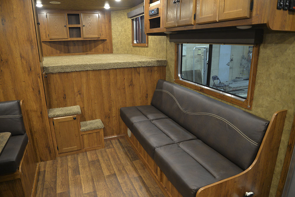 Sofa in a Colt AC8415 | Lakota Trailers