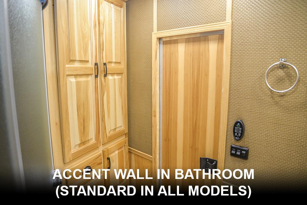 Bathroom Accent Walls | Lakota Bighorns