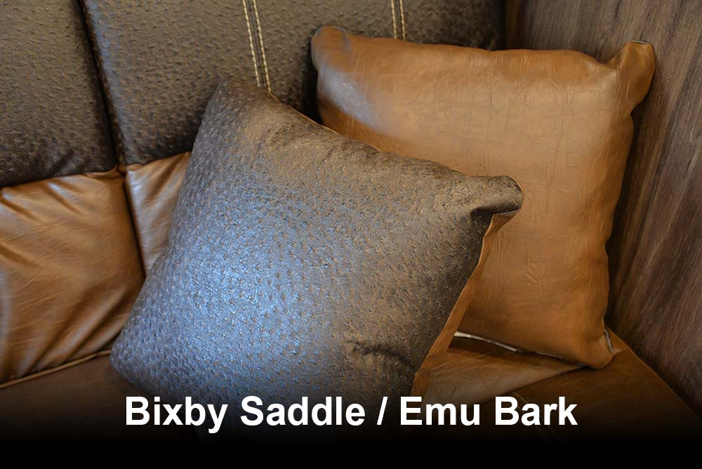 Bixby Saddle / Emu Bark | Lakota Charger Interior