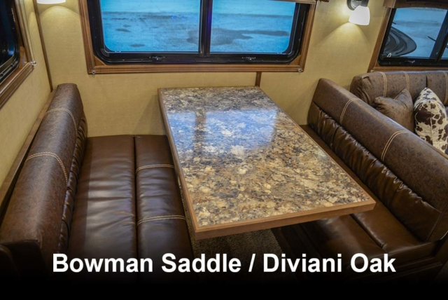 Bowman Saddle / Diviani Oak | Bighorn Interior Options