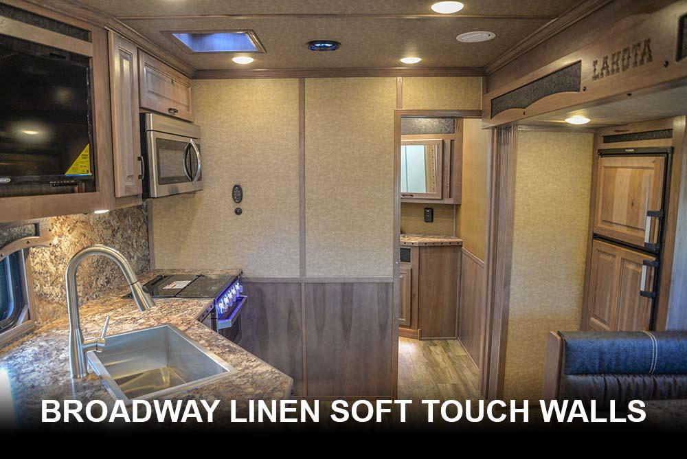 Broadway Linen Soft Touch Walls | Lakota Bighorns