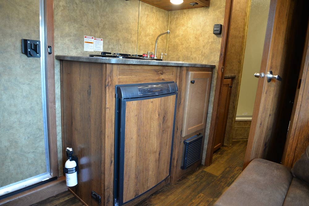 Kitchen in ACX9 | Lakota Trailers