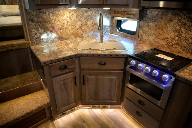 Kitchen in BH8X15KP | Lakota Trailers