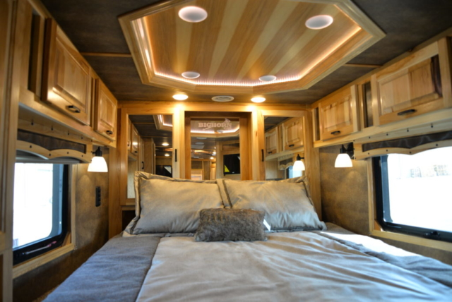 Bedroom in BH8X13RK Bighorn Edition | Lakota Trailers