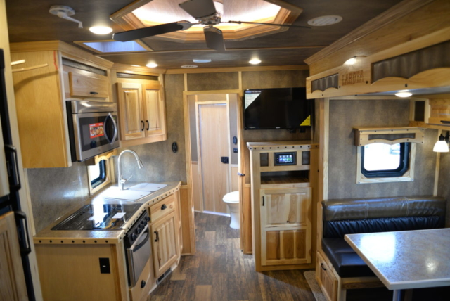 Kitchen in BH8X13RK Bighorn Edition | Lakota Trailers