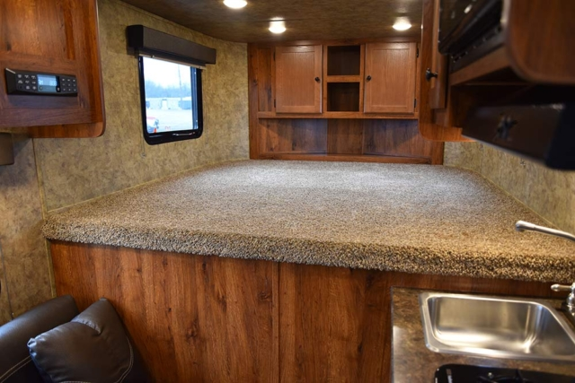 Living Quarters in ACX7 Colt Edition Horse Trailer | Lakota Trailers
