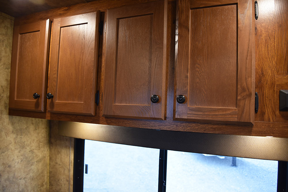 Cabinets in ACX7 Colt Edition Horse Trailer | Lakota Trailers