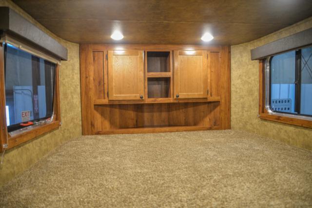 Bedroom in a Colt AC39 | Lakota Trailers