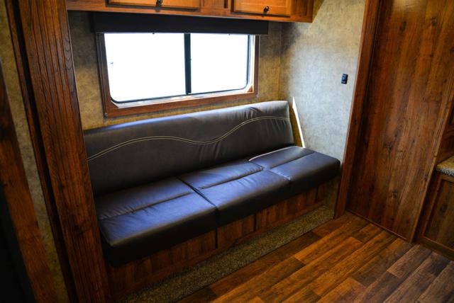 Sofa in a Colt AC8X13SO   Lakota Trailers
