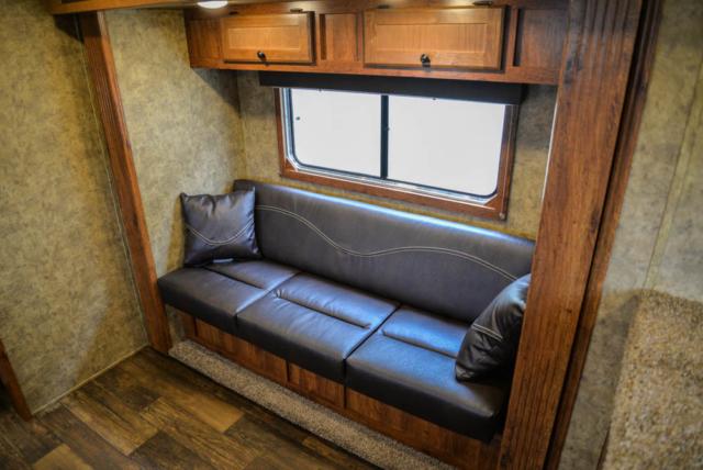 Sofa in a Colt AC839 | Lakota Trailers