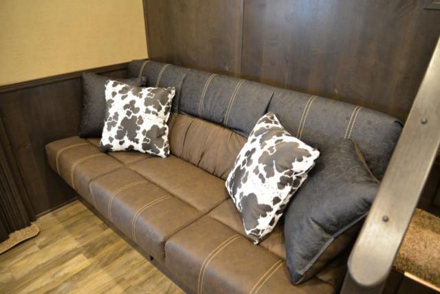 Sofa in BH8X17SRB Bighorn Horse Trailers   Lakota Trailer