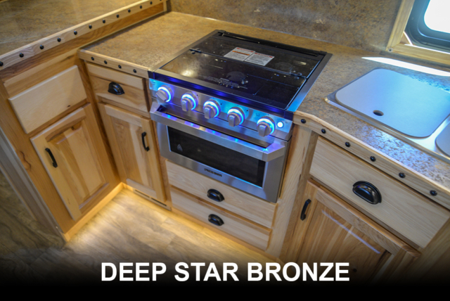 Deep Star Bronze | Bighorn Countertop Options