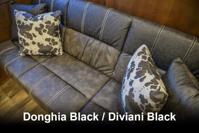Donghia Black / Diviani Black | Bighorn Interior Options