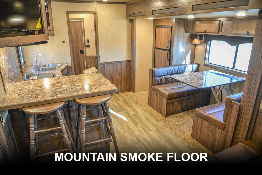 Mountain Smoke Floor | Charger Floor Options