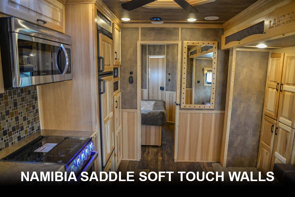 Namibia Saddle Soft Touch Walls | Lakota Bighorns
