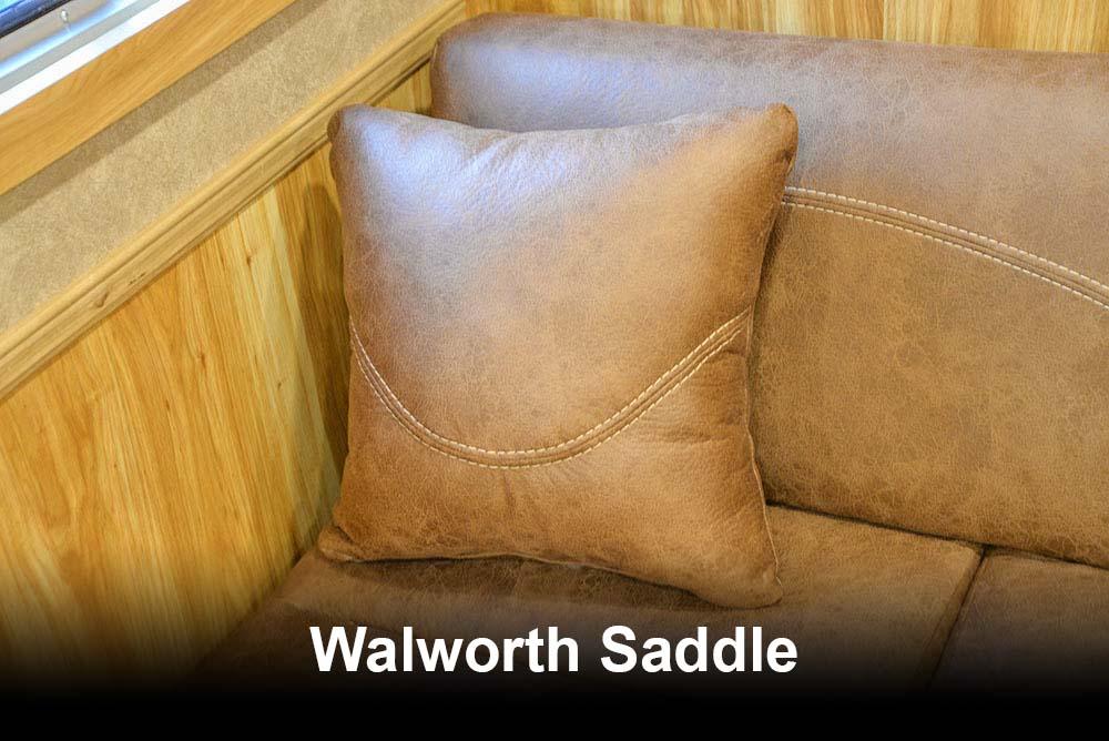 Walworth Saddle | Lakota Charger Interior